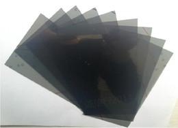 Wholesale LCD Filter Polarizing Film For SAMSUNG Galaxy S S2 S3 S4 S5 mini Note i9200 LCD Polarizer Film Polaroid Polarized Light Film