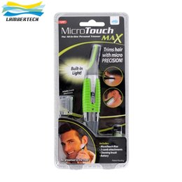 Wholesale Micro Touch Max Hair Trimmer Groomer Remover Personal Ear Nose Neck Eyebrow Micro Touch Magic Max Hair Groomer micro touch max men shaver