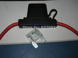 Wholesale pc High quality L Large waterproof inserted chip fuse box large auto fuse holder For large sized Car