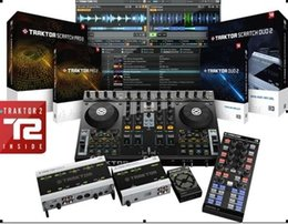 Wholesale Digital DJ music production Native Instruments Traktor Pro v2 English Version