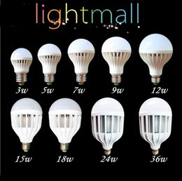 Wholesale Super Bright Led Spotlights - E27 Led Lamp 3W 5W 7W 9W 12W 15W 18W 220V 110V E27 Bulbs Light SMD 5730 B22 super bright Led Spotlight Lamps Warm   Cool White Led Bulb hot
