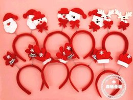 2014 Christmas Decorations Christmas tire Christmas hat Hair hoop Christmas products Christmas products Christmas gift factory head band