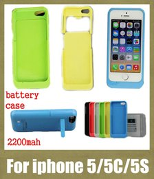 Wholesale phone case battery case for iphone c s external backup battery charger case for iphone s mah power case portable waterproof BAC007