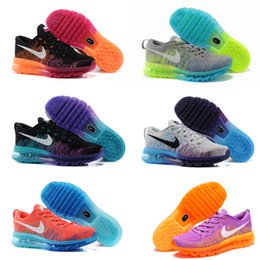 Wholesale Nike Flyknit Air Max Women Running Shoes Original Quality Nike Flyknit Air Max Shoes