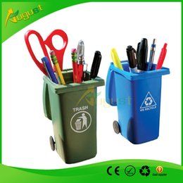 Wholesale Big Mouth Toys The Mini Curbside Trash holder and Recycle Can Se