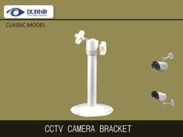 Wholesale Cheap CCTV Camera Bracket High Quality Black Aluminum Wall Mounting Rotating Bullet Camera Parts A28