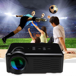 Wholesale Ship From USA LCD Projector HD P Home Theater Cinema USB SD VGA ATV HDMI lumens Portable Projector