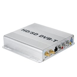 Wholesale DVB T HD SD Set Up TV BOX Various Channel Mobile Digital Car TV Tuner Box Mini Analog High Speed Signal Receiver for Car Monitor K2322