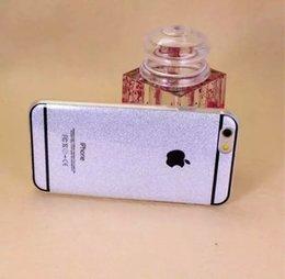 Wholesale Bling Glitter Sparkling Armor Glitter TPU Veneer Gluing Skin phone Case Back Cover For iPhone Plus YX BT