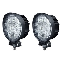 hot sales factory price 4pcs X 27w led working light 12v led work lights off road lights 27w led car work light