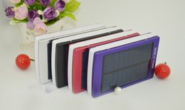 Wholesale 30000mAh Solar Charger and Battery Solar Panel portable power bank for Cell phone Laptop Camera MP4 With Flashlight waterproof shockpr