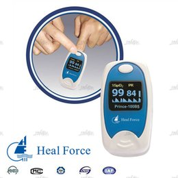 Wholesale Health Care Heal Force Fingertip Pulse Oximeter Prince B5 Anti motion Technology Tensiometros Digital Medical Blood Pressure Monitor