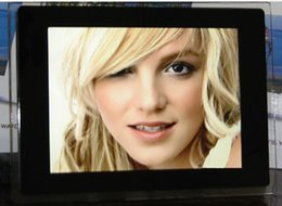 Wholesale Digital Photo Frame inch HD x768 TFT screen Multi functional Bluit in MP3 MP4 player remote control white black color