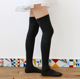 Pack of Women Long Socks for Over the Knee Socks Thigh High Cotton Stockings