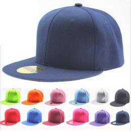 2017 sombreros de béisbol en blanco snapback Al por mayor-Hip Hop venta caliente Bboy Estilo Poliéster 20 colores disponibles unisex gorra de béisbol en blanco llano Snapback ajustable Deportes Sombrero sombreros de béisbol en blanco snapback oferta