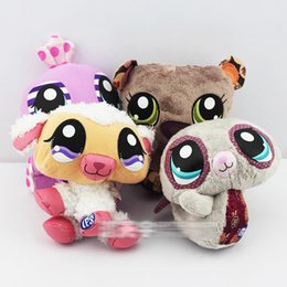 Wholesale Hasbro Littlest Pet Shop plush toys styles for choose collection stuffed animals Christmas gifts for Children E271