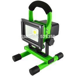 Wholesale W LED rechargeable floodlight for Portable Spotlight emergency Lanterns floodlight