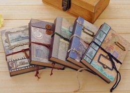 Nouveau livre notebook / de couverture douce main vintage Craft mémoire / bricolage Journal Notepads / agenda / gros à partir de craft bloc-notes fabricateur