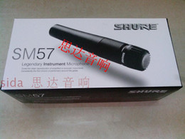 Wholesale 2016 new SM LC good sound musical instrument vocal karaoke recording Dynamic Microphone mic mike