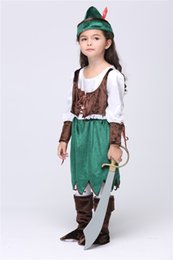 2015 Halloween Kid's Clothing Girls Dresses Girls Set The Game Clothing Costume Party Cosplay Performance New Clothing Girls Set Suits