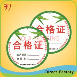 Customized printing barcode number shipping packaging label