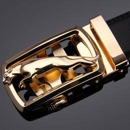 Wholesale Best selling Fashion brand Metal D series smooth Buckle mens belts luxury leather men belt European style belts for Men