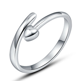925 sterling silver items weeding ring vintage love point spot infinity fashion open design new arrival