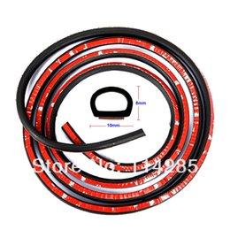 Wholesale 160 quot Car Truck Motor Door Rubber Seal Strip Weatherstrip Seals Hollow m mm mm Small D A3