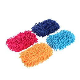 1pc Car Hand Soft Towel Microfiber Chenille Washing Towel Coral Fleece Hand Brush