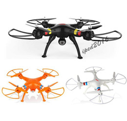 SYMA X8C 4CH 2.4GHz RC drone 2016 helicopter quadcopter Drone with 2.0MP camera RC helicopter with retail box free DHL