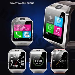 """Acheter en ligne Spies caméras-GV08 montre téléphone avec 1.3Mp caméra espion, 1.5 """"écran tactile, bluetooth smartwatch téléphone Sync Call Fonction"""