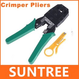 Wholesale Top Quality RJ45 RJ11 RJ12 Wire Cable Crimper Crimp PC Network Tool Network Lan Cable Crimper Pliers Tools