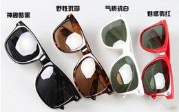 Wholesale hot Sunglasses Cycling Sports Beach Women Mens Classic Fashion Goggles Lovers Unisex Cool Anti UV Multi color sunglasses