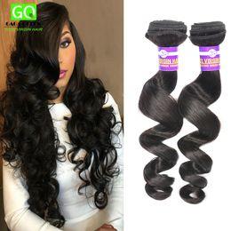 Wholesale Bella Dream Hair Brazilian Loose Wave Hair Extensions A Brazilian Virgin Hair Bundles Unprocessed Human Hair Weaves Tangle Free