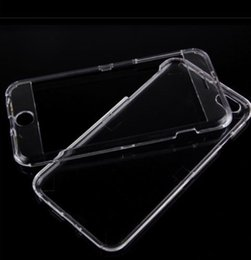 Wholesale Crystal Clear Front and Back Hard Full Body Case Cover for Apple iPhone quot