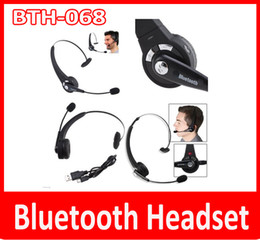 New BTH-068 Bluetooth Headset Universal Bluetooth Headsets Bluetooth Headphone Wireless Earphone Answer Phone Sport Headset HBS Headset