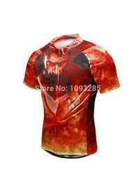 Wholesale-Hot sale cartoon cycling Jersey Shirt Shorts sets Mountain Bike Bicycle wear Jerseys Men Outdoor bike clothes