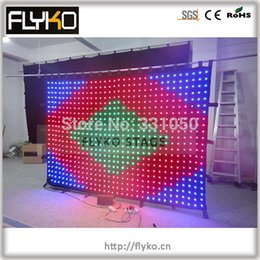 Wholesale PC controller software free p9 x3m led stage light with DMX function sound system