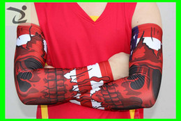 hot selling USA flag skull digital camo arm sleeve Adult children all 138 colors and 7 size in stock