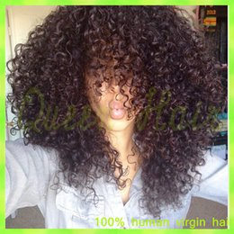 Malaysian virgin hair fashion kinky curly full lace human hair wigs for black women lace front wig glueless full lace wig
