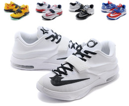 Newest Kevin Durant 7 Basketball Shoe Sports Shoe Athletic Running shoe Best price Quality With Standout Midsole Size US7-12 EU40-46