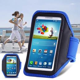 Wholesale Brazalete deportivo a prueba de agua universal para la caja del teléfono Samsung Galaxy S3 S4 S5 brazal de Ejecución Accesorios Con la correa del caso ajustable