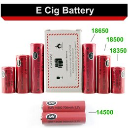Wholesale AW IMR battery for Mechanical Mods Itaste Vamo Nemesis King Manhattan Hades Dry batteries DHL