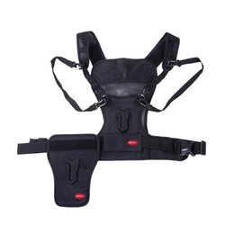 Wholesale Micnova MQ MSP Multi Camera Carrier Harness Holster System for Digital SLR Camera Photographer Vest with Side Holster