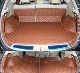 Nissan cuir murano en Ligne-Nouvelle arrivée Livraison gratuite! Tapis de coffre pour Nissan Murano 2013-2010 Tapis de sol résistant à l'usure en cuir pour Murano 2011