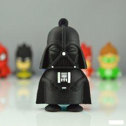 Star Wars Darth Vader Yoda R2D2 USB flash drive pendrive pen drive 16gb 32gb U disk Keychains Keyring star wars supplies