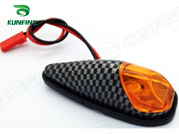 Universal Motorcycle Waterproof 12V 1W High Power LED Turn Signal Light With Amber Turn Signal Lights KF-V3013