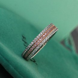 Wholesale hot selling product Finger rings sterling silver finger ring jewelry T pattern Finger rings
