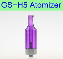 3.0 ml GS-H5 Atomizer coils replaceable clearomizer eGo electronic cigarette standard thread vaporizer for Ego-T Battery