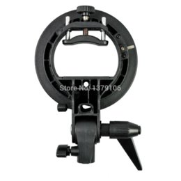 Godox S-Type Flash speedlite Bracket Bowens S Support de montage pour Speedlite Flash Softbox Snoot bracket generator à partir de fabricateur